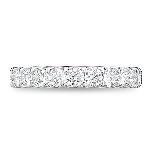 Platinum Odessa Wedding Band Image 2 Baxter's Fine Jewelry Warwick, RI
