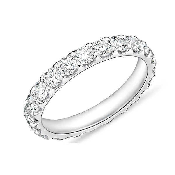 Platinum Odessa Wedding Band Baxter's Fine Jewelry Warwick, RI