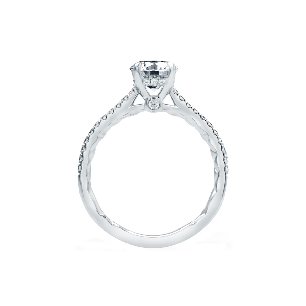 Four Prong Engagement Ring Image 3 Baxter's Fine Jewelry Warwick, RI