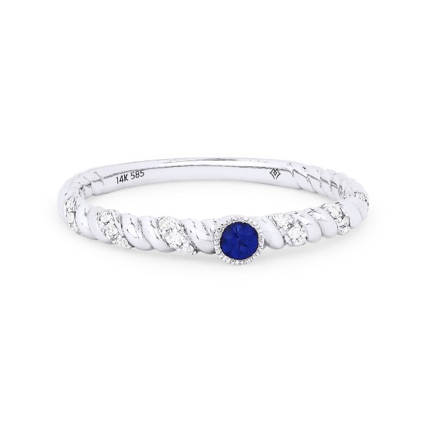 Diamond and Sapphire Stackable Ring Baxter's Fine Jewelry Warwick, RI