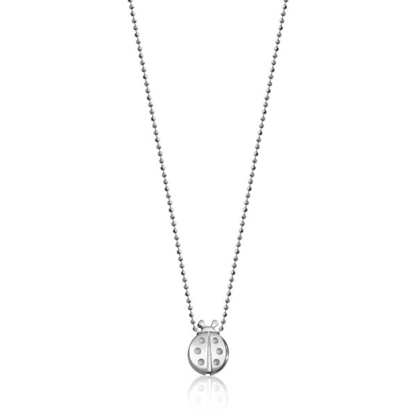 Sterling Silver Luck Ladybug Necklace Baxter's Fine Jewelry Warwick, RI