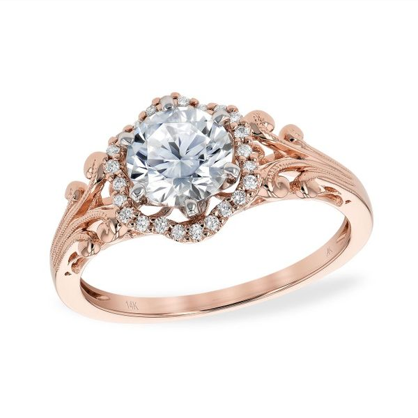 Allison Kaufman Engagement Ring Bay Area Diamond Company Green Bay, WI