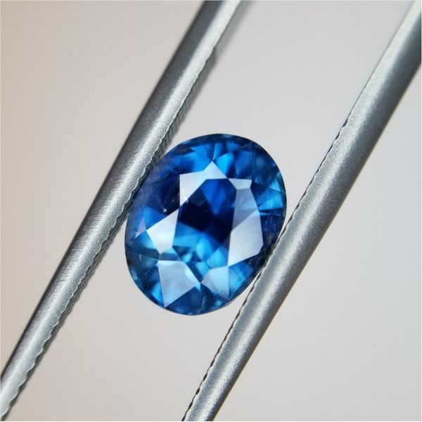 2.04ct Oval Cut Sapphire Becky Beauchine Kulka Diamonds and Fine Jewelry Okemos, MI