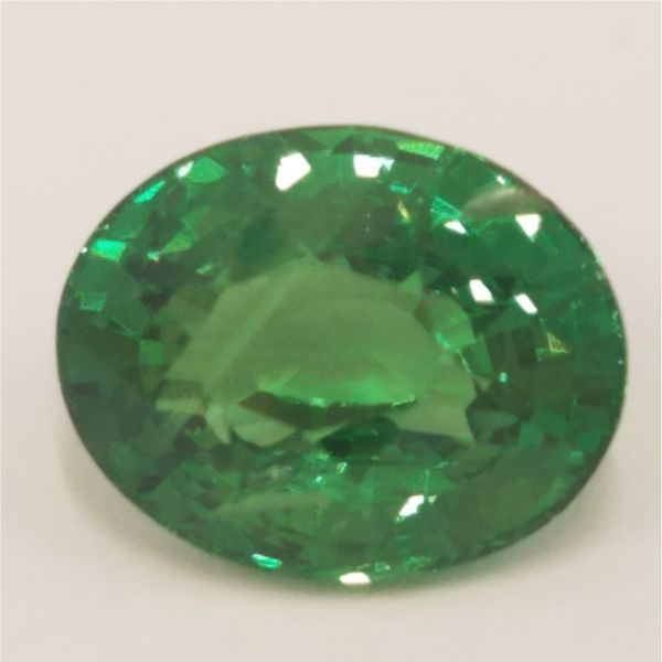 4.04ct Oval Cut Tsavorite Garnet Becky Beauchine Kulka Diamonds and Fine Jewelry Okemos, MI