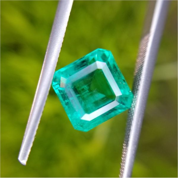 1.41ct Oval Cut Emerald Becky Beauchine Kulka Diamonds and Fine Jewelry Okemos, MI