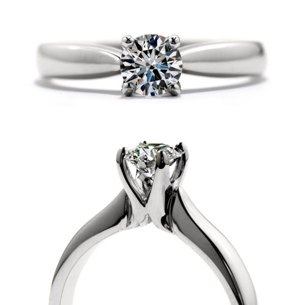 Hearts on Fire Serenity Select Solitaire Engagement Ring Image 2 Becky Beauchine Kulka Diamonds & Fine Jewelry Okemos, MI