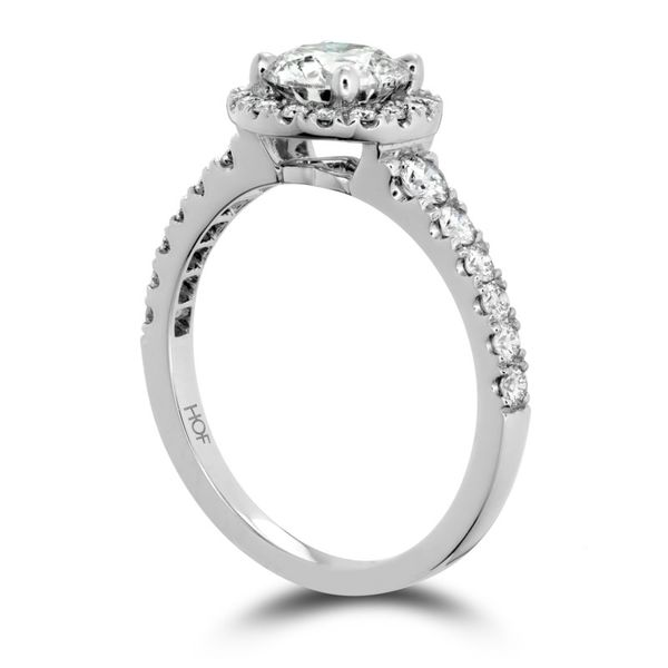 Hearts on Fire Transcend Single Halo Engagement Ring Image 2 Becky Beauchine Kulka Diamonds & Fine Jewelry Okemos, MI
