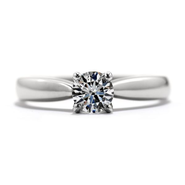 Hearts on Fire Serenity Solitaire Engagement Ring Becky Beauchine Kulka Diamonds & Fine Jewelry Okemos, MI