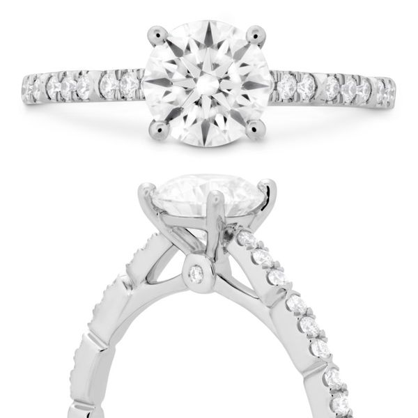 Hearts on Fire Cali Chic Engagement Ring Image 3 Becky Beauchine Kulka Diamonds and Fine Jewelry Okemos, MI