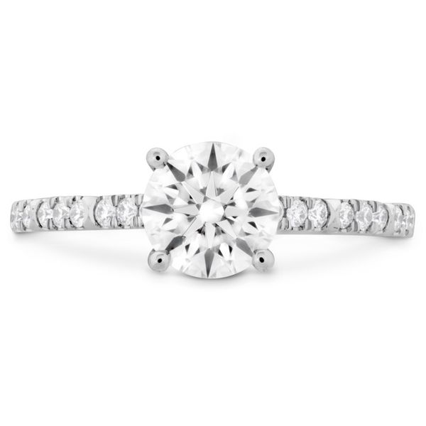 Hearts on Fire Cali Chic Engagement Ring Becky Beauchine Kulka Diamonds and Fine Jewelry Okemos, MI