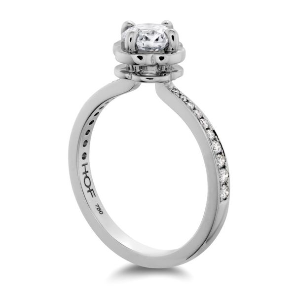 Hearts on Fire Desire Engagement Ring Image 2 Becky Beauchine Kulka Diamonds & Fine Jewelry Okemos, MI
