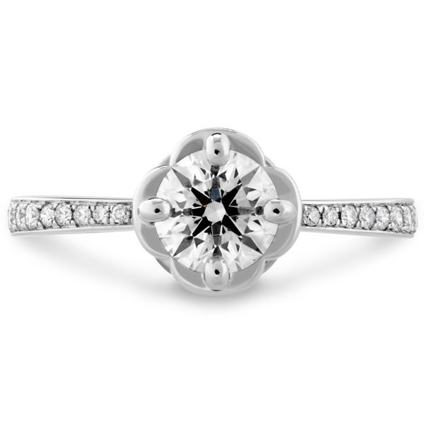Hearts on Fire Desire Engagement Ring Becky Beauchine Kulka Diamonds & Fine Jewelry Okemos, MI