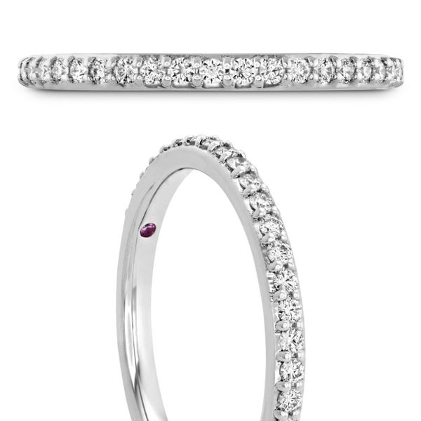 Hearts on Fire Behati Say It Your Way Matching Band Image 2 Becky Beauchine Kulka Diamonds and Fine Jewelry Okemos, MI