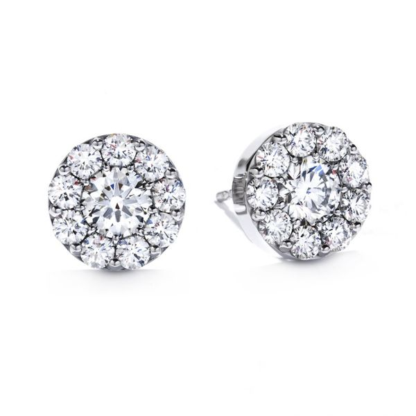 Hearts on Fire Fulfillment stud earrings Becky Beauchine Kulka Diamonds and Fine Jewelry Okemos, MI
