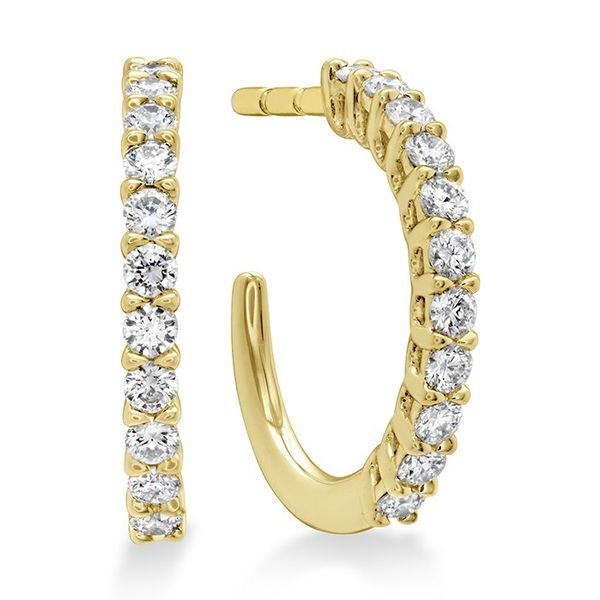 Extra Small Signature Hoop Earrings by Hearts on Fire Becky Beauchine Kulka Diamonds and Fine Jewelry Okemos, MI