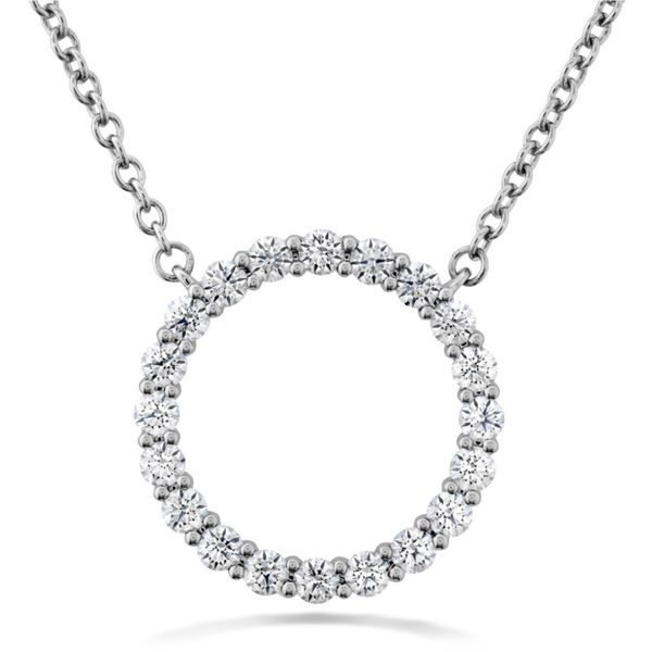 Medium Signature Circle Pendant Becky Beauchine Kulka Diamonds and Fine Jewelry Okemos, MI