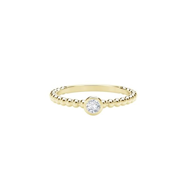 Forevermark Tribute Collection stacking ring Becky Beauchine Kulka Diamonds and Fine Jewelry Okemos, MI
