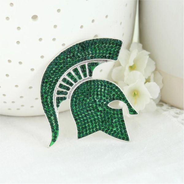 MSU Spartan Pin Becky Beauchine Kulka Diamonds and Fine Jewelry Okemos, MI