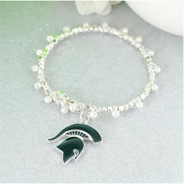 MSU Spartan Bracelet Becky Beauchine Kulka Diamonds and Fine Jewelry Okemos, MI