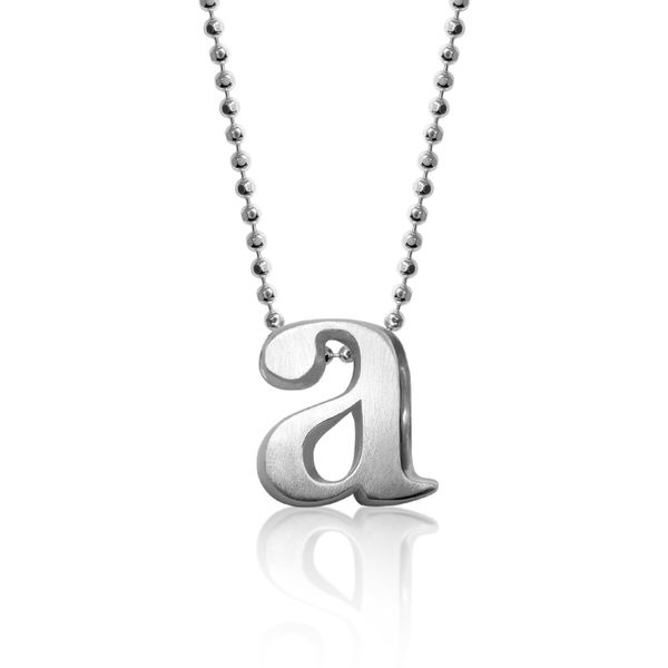 Block A Letter Pendant by Alex Woo Becky Beauchine Kulka Diamonds and Fine Jewelry Okemos, MI