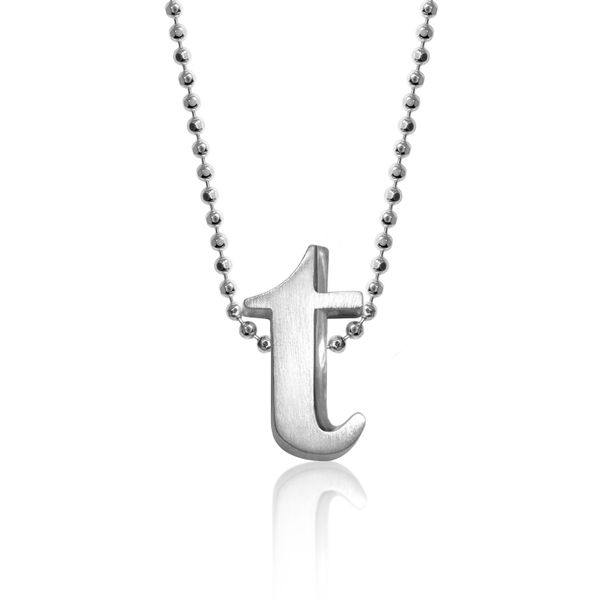 Block T Letter Pendant by Alex Woo Becky Beauchine Kulka Diamonds and Fine Jewelry Okemos, MI