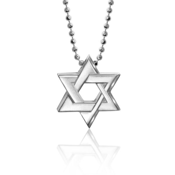 Faith Star of David Pendant by Alex Woo Becky Beauchine Kulka Diamonds and Fine Jewelry Okemos, MI