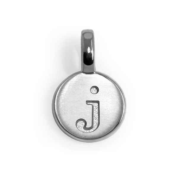 Mini Letter J Charm Becky Beauchine Kulka Diamonds and Fine Jewelry Okemos, MI