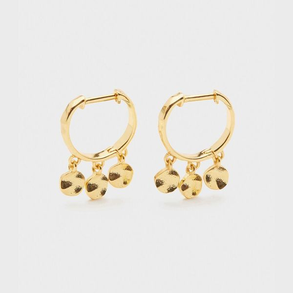 Chloe Mini Huggie Earrings with Gold Finish Becky Beauchine Kulka Diamonds and Fine Jewelry Okemos, MI