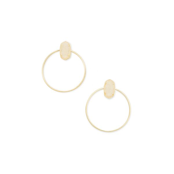 Mayra Open Frame Earring by Kendra Scott Becky Beauchine Kulka Diamonds and Fine Jewelry Okemos, MI