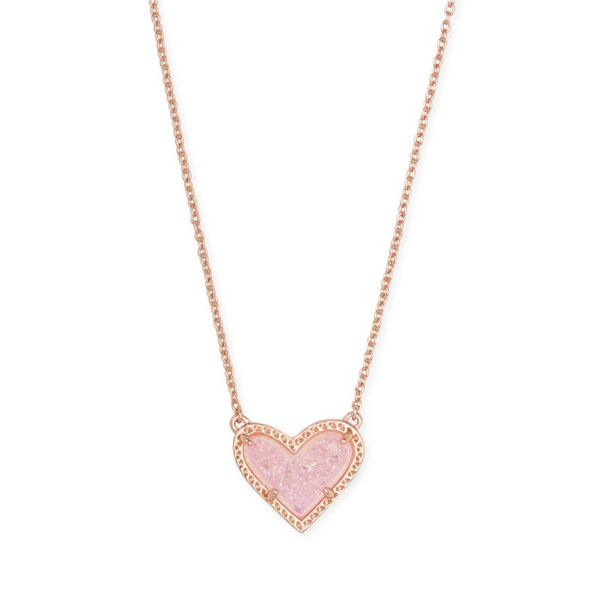 Ari Heart Short Pendant by Kendra Scott Becky Beauchine Kulka Diamonds and Fine Jewelry Okemos, MI