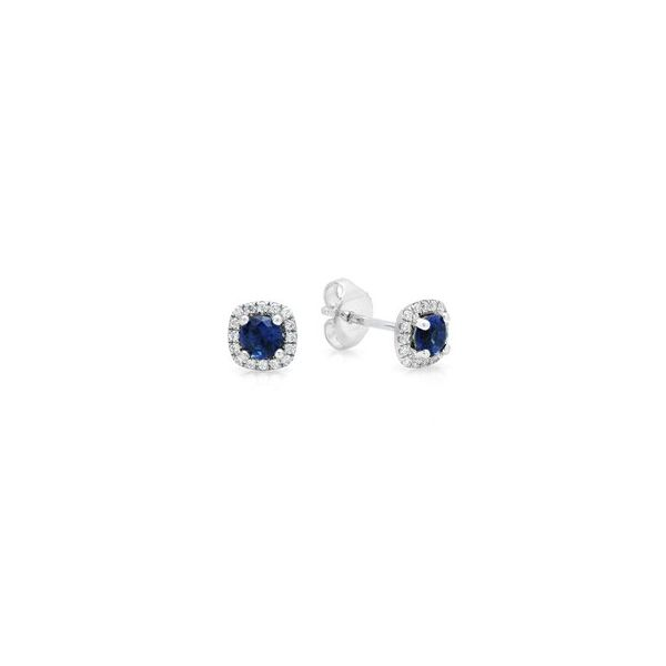 Diamond Sapphire Earrings Bell Jewelers Murfreesboro, TN