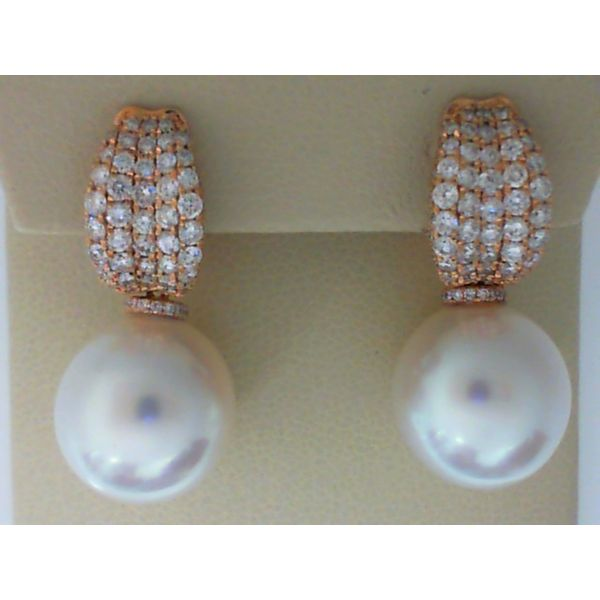 Diamond Pearl Earrings Bell Jewelers Murfreesboro, TN