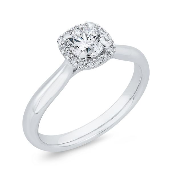 14 Karat White Gold Diamond Engagement Ring- Special Order Only Image 2 Bluestone Jewelry Tahoe City, CA