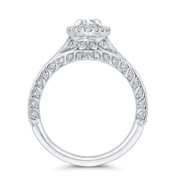 14 Karat White Gold Marquise Diamond Engagement Ring- Special Order Only Image 3 Bluestone Jewelry Tahoe City, CA
