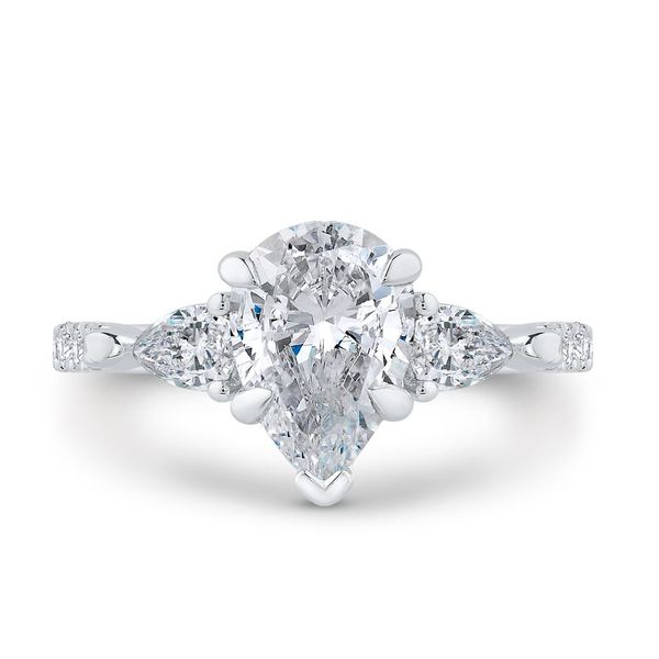 14 Karat White Gold Diamond Engagement Ring- Special Order Only Bluestone Jewelry Tahoe City, CA