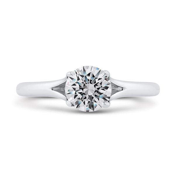 14K White Gold Solitare Diamond Engagement Ring- Special Order Only Bluestone Jewelry Tahoe City, CA