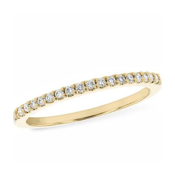 14 Karat Yellow Gold Wedding Band Bluestone Jewelry Tahoe City, CA