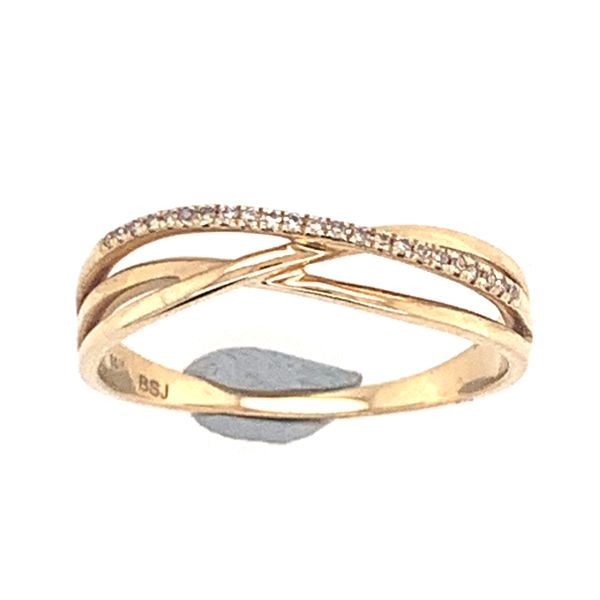 14 Karat Yellow Gold Diamond Ring Bluestone Jewelry Tahoe City, CA