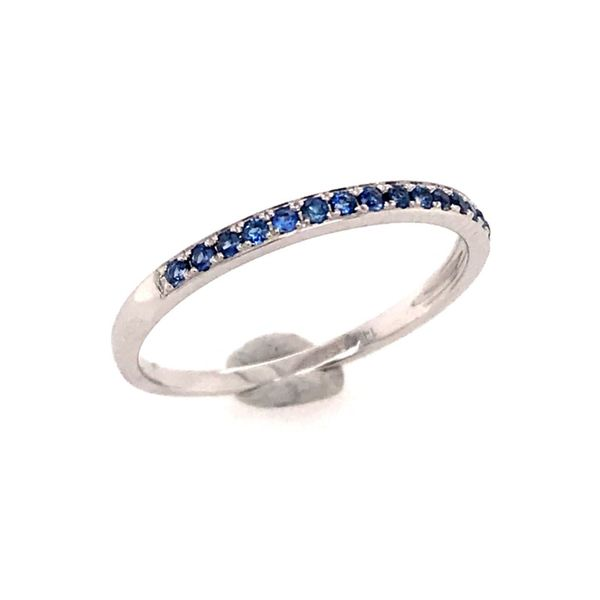 14 Karat White Gold Sapphire Ring Bluestone Jewelry Tahoe City, CA