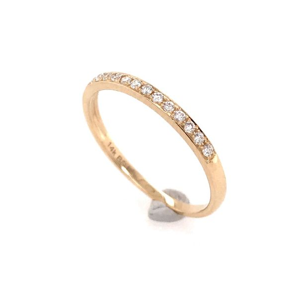 14 Karat Yellow Gold Diamond Ring Image 2 Bluestone Jewelry Tahoe City, CA