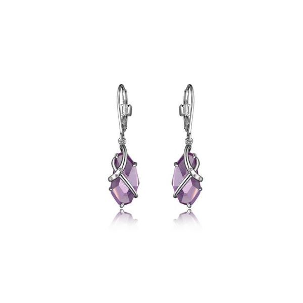 Sterling Silver Amethyst Earrings Bluestone Jewelry Tahoe City, CA