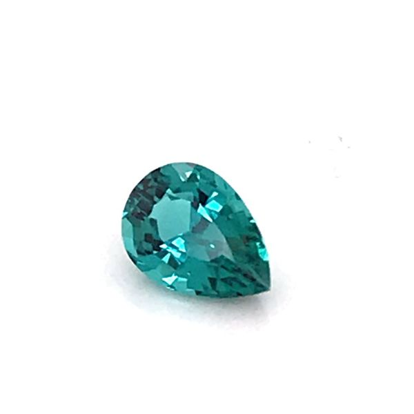 1.47 Carat Pear Cut Blue Green Tourmaline Loose Gemstone Bluestone Jewelry Tahoe City, CA