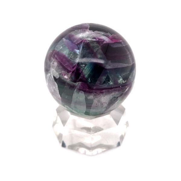 Fluorite Gemstone Sphere Bluestone Jewelry Tahoe City, CA