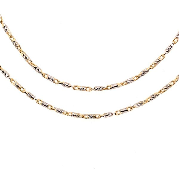 Gold Chain Image 2 Bluestone Jewelry Tahoe City, CA