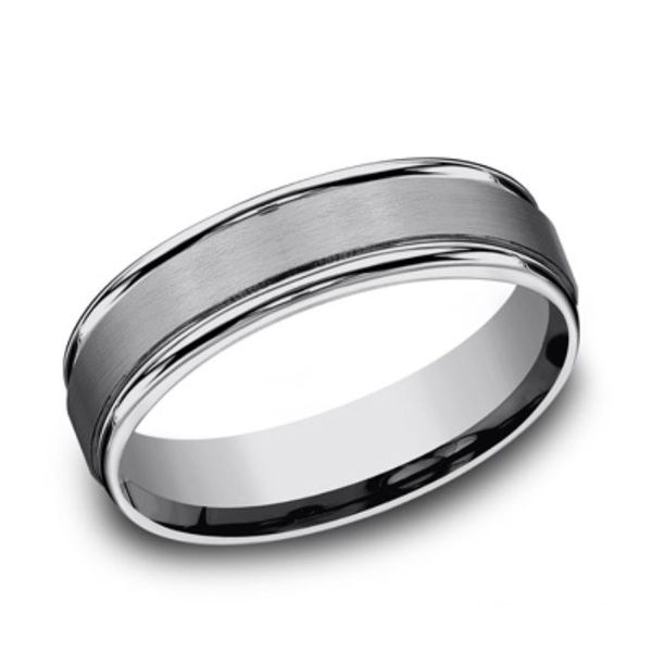 Tungsten Comfort fit 6mm Band- Size 11 Bluestone Jewelry Tahoe City, CA
