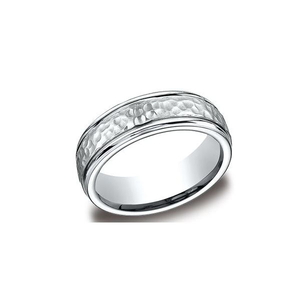Titanium 7mm Band- Size 8.5 Bluestone Jewelry Tahoe City, CA