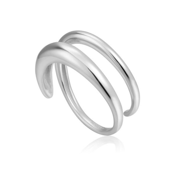 Sterling Silver Rhodium Plated Adjustable Twist Ring Bluestone Jewelry Tahoe City, CA