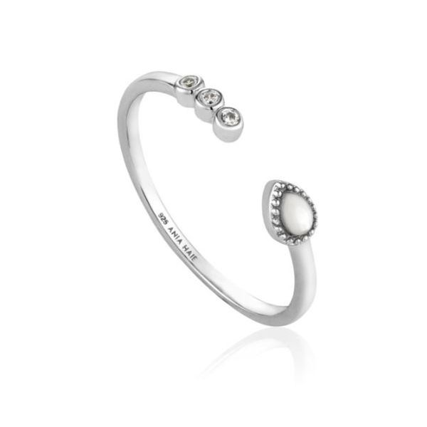 Sterling Silver Rhodium Plated Adjustable