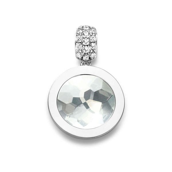 Pendant XS 925 Silver With CZ Stones Bluestone Jewelry Tahoe City, CA