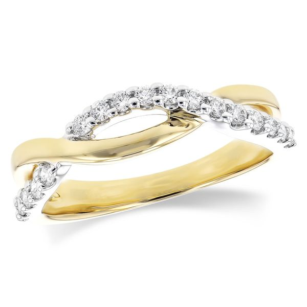 Crossover Wedding Band Blue Water Jewelers Saint Augustine, FL